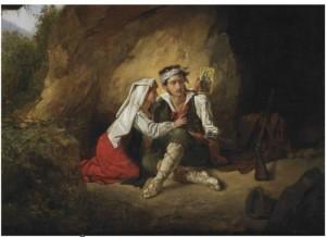 Hanselaere P.van, Consolazione, 1825,  mercato ant.