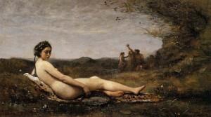 Agostina, Corot, JBC, Nudo, Corcoran Gall. Washington