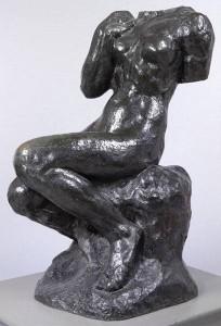 Anna, Rodin, A., Cybèle o Abbruzzesi seduta,  h.161 cm, Museo V & A.Londra
