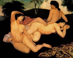 Carmela Caira, Bernard, E., Dopo il bagno, 1908, Museo d'Orsay, Parigi