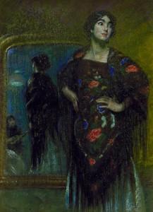 Carmela Caira, Pike Barney Alice, The Spanish Shawl ca.1980 Smithsonian Inst., USA