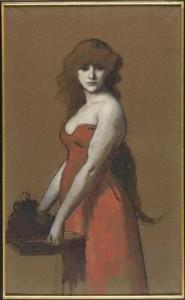 Carolina Carlesimo, Henner, J.J. Hérodiade, ca.1887,  Mus.Henner, Parigi