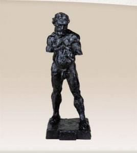 Cesidio Pignatelli, Matisse,H., The Serf,  bronzo. h.92,4, Collez. Nasher, Dallas, USA