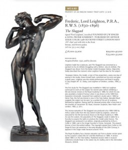 Gaetano Valvona, Leighton,F., Il Neghittoso, Museo V.& A. Londra