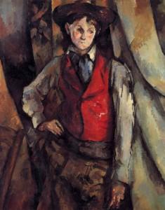 Michele de Rosa, Cézanne, P., Ragazzo dal panciotto rosso, Gall. Naz.Washington