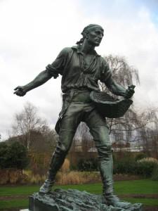 Orazio Cervi, Thornycroft, W.H., Il Seminatore, Kew Gardens, Londra