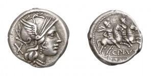 C.Plautius, Atina, den. 278 c a 278 a.C.,1 Syd 410