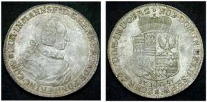 FONDI 1-4 Tallero, AG 1747 CNI XVIII p.260