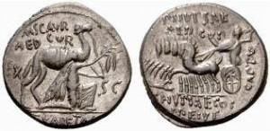 M.Aemilius Scaurus + P.Plautus Hypsaeus, Priverno, Crw 422,1b Syd.913