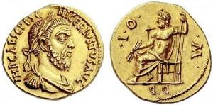 Pescennio Nigro, Aquino,193-4 a.D. AU