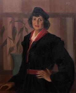 A.Anna Letizia Pecci Blunt o Mimì,Carpineto,1885-1971,mecenate