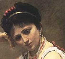Agostina in Corot