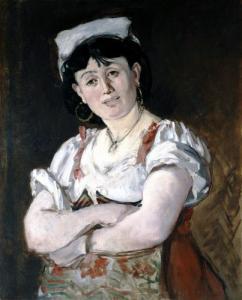 Agostina in Manet,