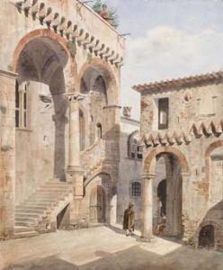 Anagni, Casa Barnekow in opera di Werner C.F.
