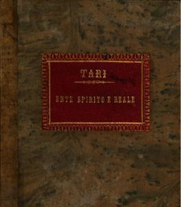 Antonio Tari, Terelle, 1809-1884, filosofo