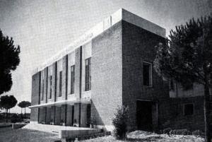 Antonio Valente,Sora, 1894-1975, architetto, Centro sperimentale di cimematografia,Roma