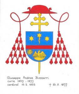 Giuseppe Andrea Bizzarri, cardinale, Paliano 1802-1877