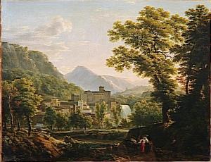 Isola del Liri, Bidauld J.J.X 1793 113x144 Louvre