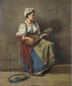 JBC COROT, Ciociara con mandolino 87x46