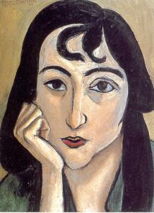 Loreta Arpino in Matisse, 1917