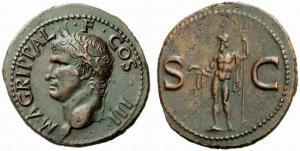 Marco Vipsanio Agrippa, Arpino, 63 a.C.-12 a.C., generale e politico