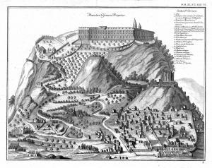 Montecassino in Allg. Welthistorie b.J.J.Gebauer Halle 1778
