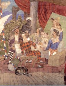 Picasso sipario di parade 1917