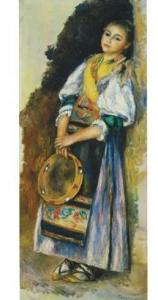 Renoir,P.A. italiana col tamburello, 1881, 78,5x34,2 MUS.SAMMLROSENGART LUZERN