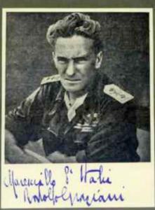 Rodolfo Graziani, Filettino, 1882-1955, generale