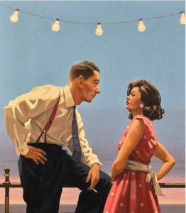 Vettriano Jack,The Big Tease, part