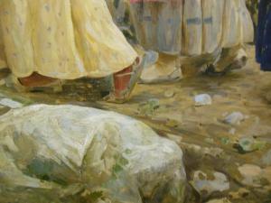 cioce in dipinto Gall.Com. Roma