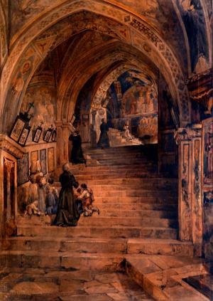 Cripta  a Subiaco