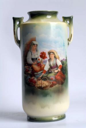 Vaso decorato con ciociare