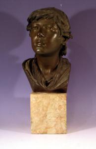 Argentino, fonderia artistica napoletana h. 37 cm  prop.priv