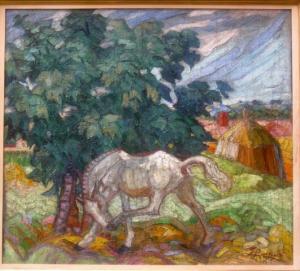 Cavallo, 90x94, Secess. romana 1916