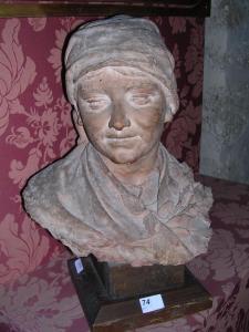Contadina, terracotta, 47 cm con base, coll. priv.