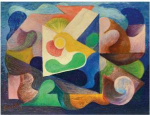 Corpus Domini, 1937, 68x88 cm,  mercato ant.