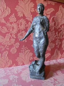 Insidia, 43 cm, bronzo arg., coll.priv