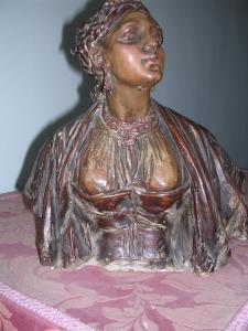 Ragazza orientale, 25 cm, coll.priv.