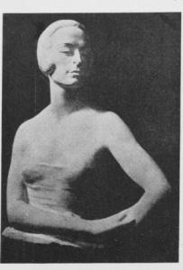 Ritratto di Diana Karenna, marmo, 1921, EMP LIII n.318 p