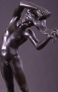 Spiga o ragazza che si pettina, bronzo, 52,5 cm,  Galleria Comunale, Roma