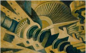 Turbine, 1933-36, 46x71 cm, mercato ant.