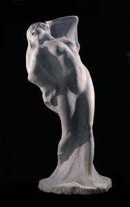 Velata, La, marmo, 1,90 m, Galleria  Comunale, Palermo
